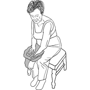Sample treatment guides and handouts from the ot toolkit paso 3 inclnese hacia adelante y coloque el brazo izquierdo en la apertura de la manga fandeluxe Choice Image